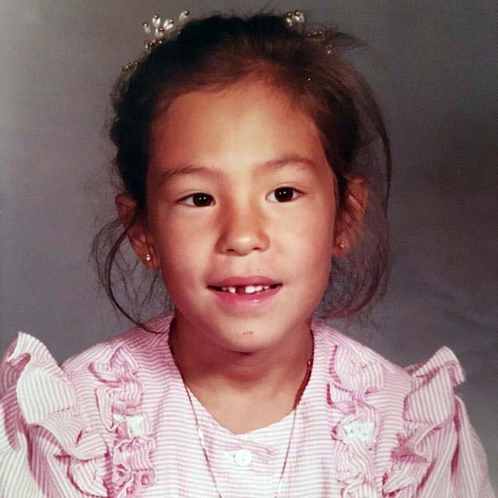 Photo of Young Joanna Gaines.