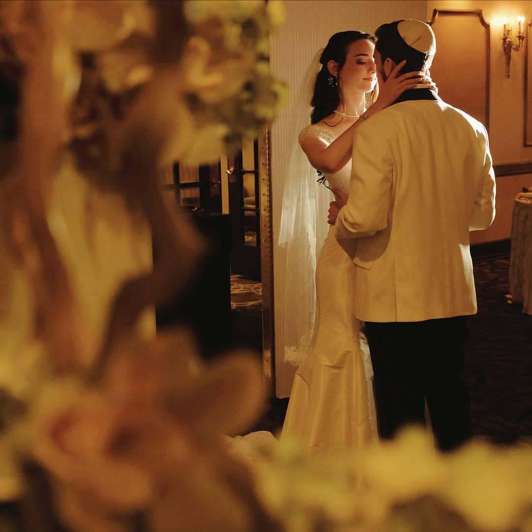 Abigail Roth's wedding with husband, Jacob Roth