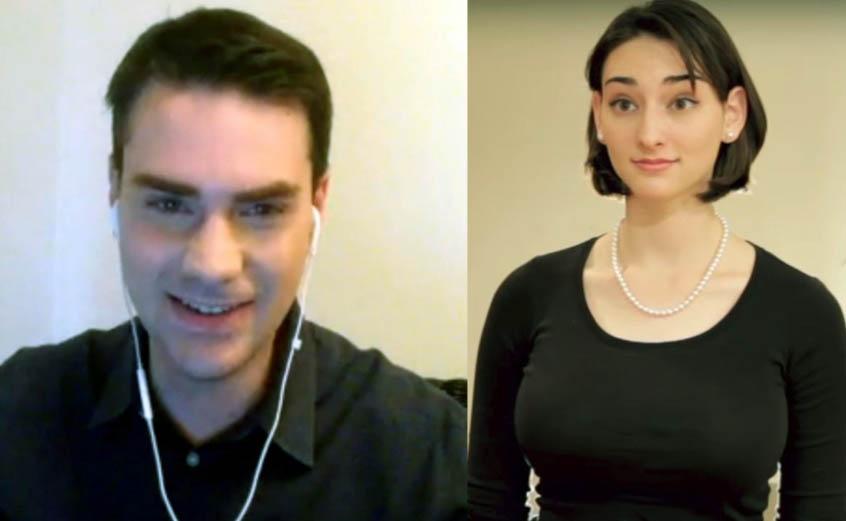 Ben Shapiro and his sibling sister, Abigail Roth