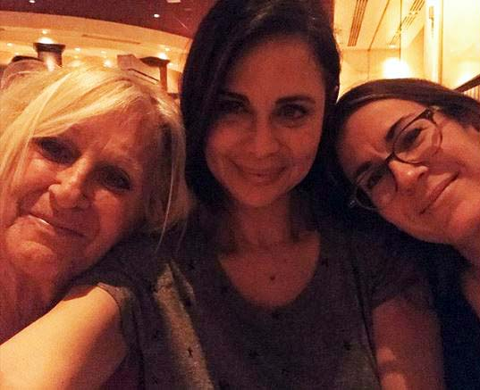 Image of Brooke Daniells with mother, Penny and partner, Catherine Bell together