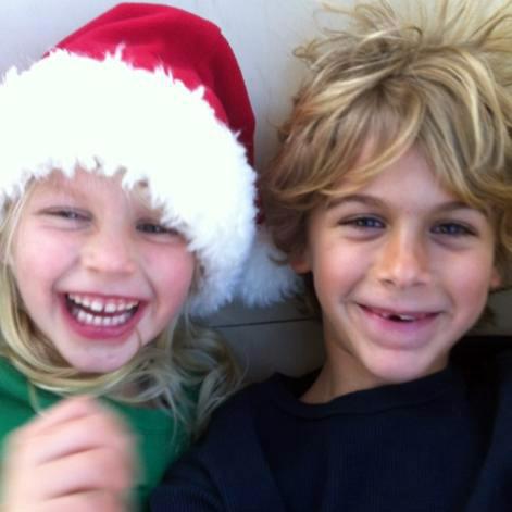 Image of Dane and Chapel, children of Brooke Daniells