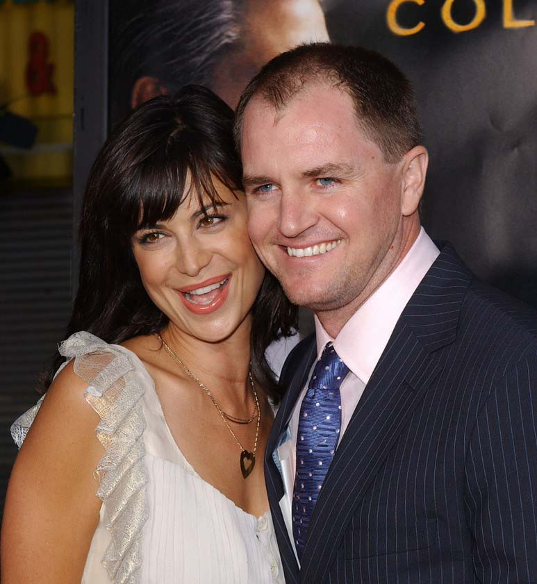 Catherine Bell with former husband, Adam Beason