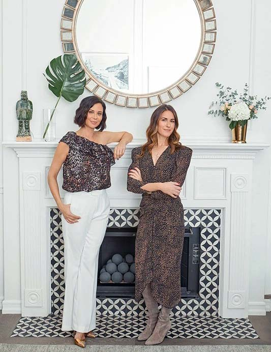 Catherine Bell and her partner Brooke Daniells
