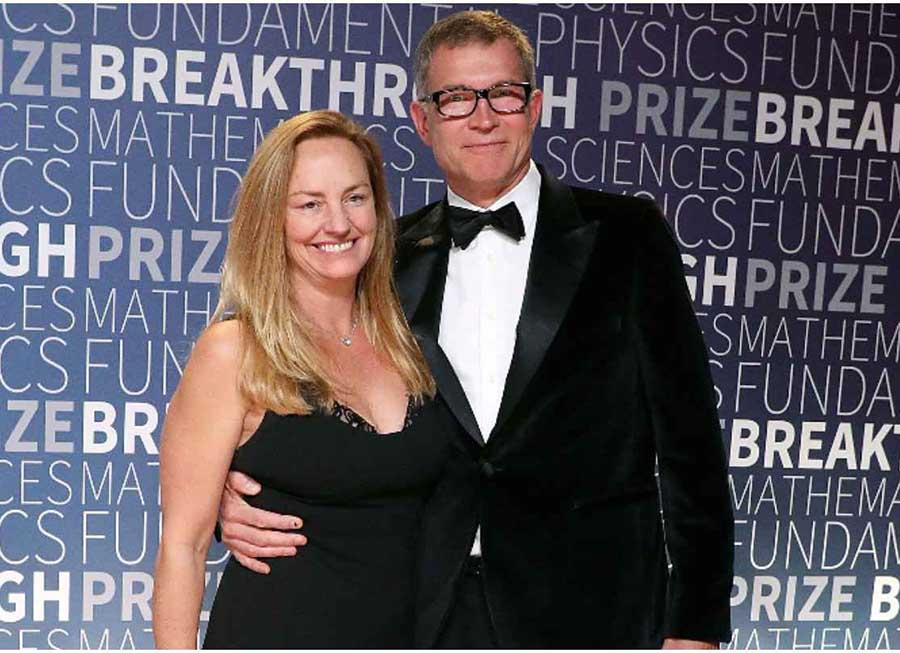 David Baszucki and his wife, Jan Ellison