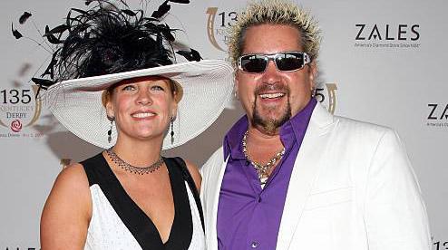 Image of Lori Fieri and Guy Fieri.