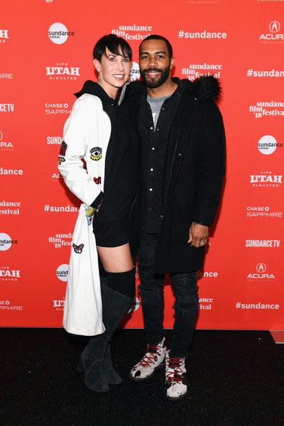 Jennifer Pfautch with husband, Omar Hardwick
