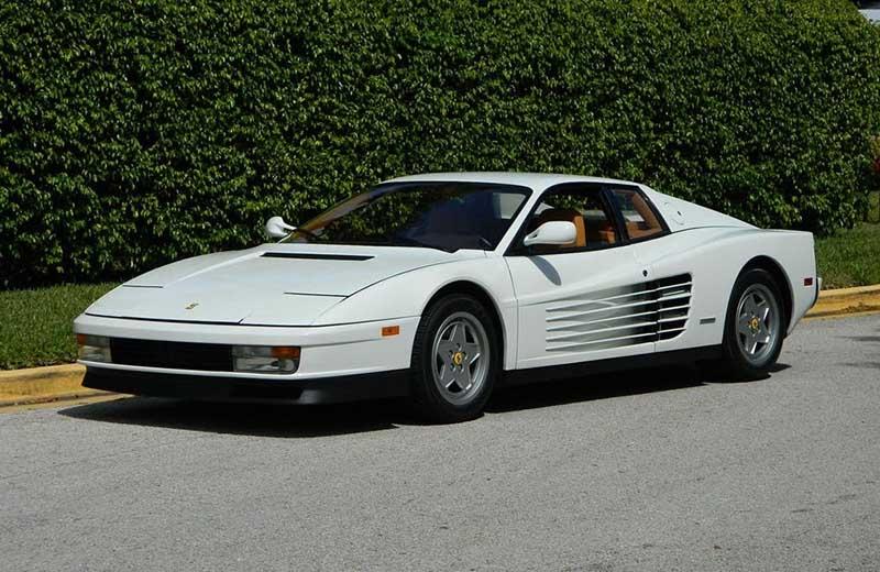 Jordan Belfort's car
