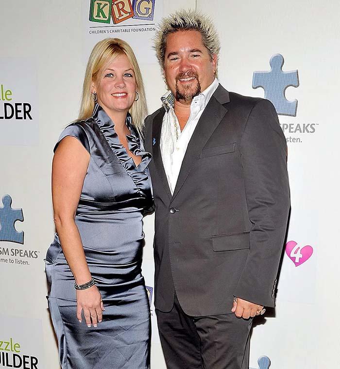 Lori Fieri with husband, Guy Fieri
