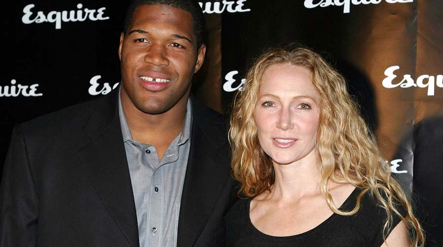 Photo of Michael Strahan with her Ex-wife, Jean Muggli.