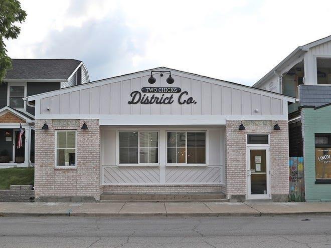 Mina Starsiak Hawk's new retail store Two Chicks District Co.