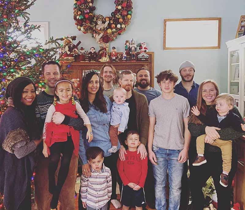 Photo of Mina Starsiak's family