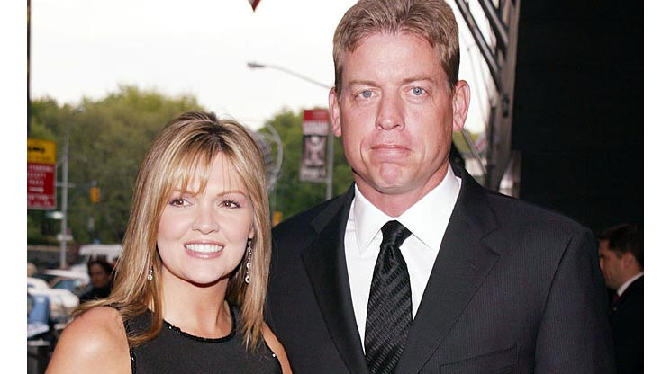 Photo of Rhonda Worthey and her Ex-husband, Troy Aikman together.