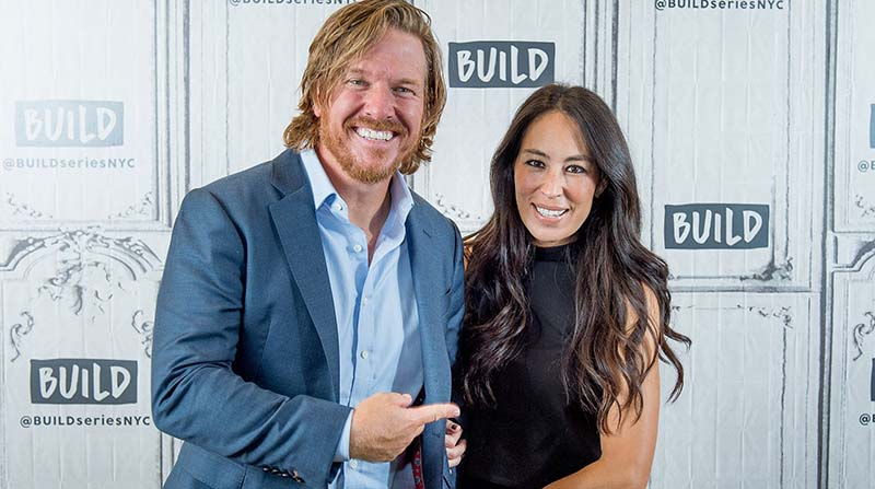 Photo of Author, Chip & his wife, Joanna Gaines