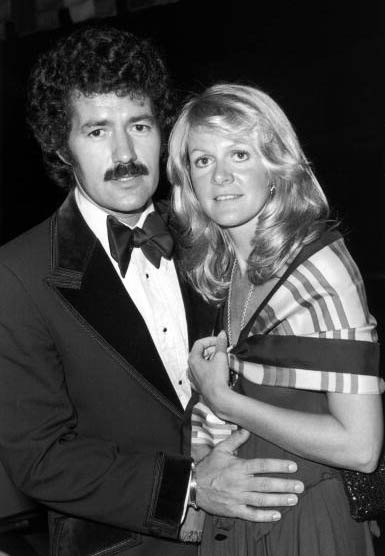 Old photo of newly married couple, Alex and Elaine Trebek.