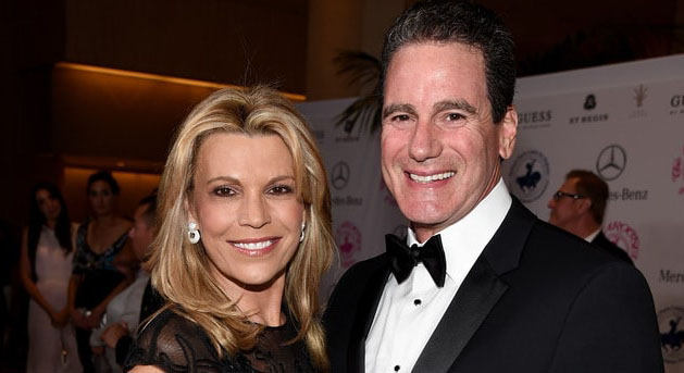 Vanna White and her ex-husband, George Santo.