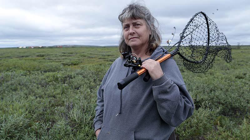 photo of Sue Aikens, star of Life Below Zero.
