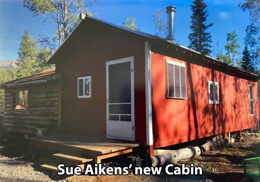 Sue Aikens' new Cabin