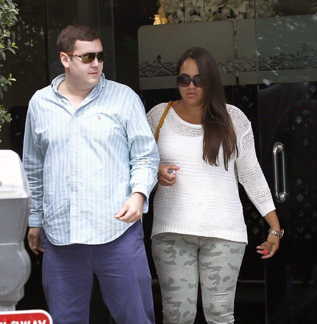 Photo of Sydney Brooke Simpson and rumored boyfriend, Robert Blackmon.