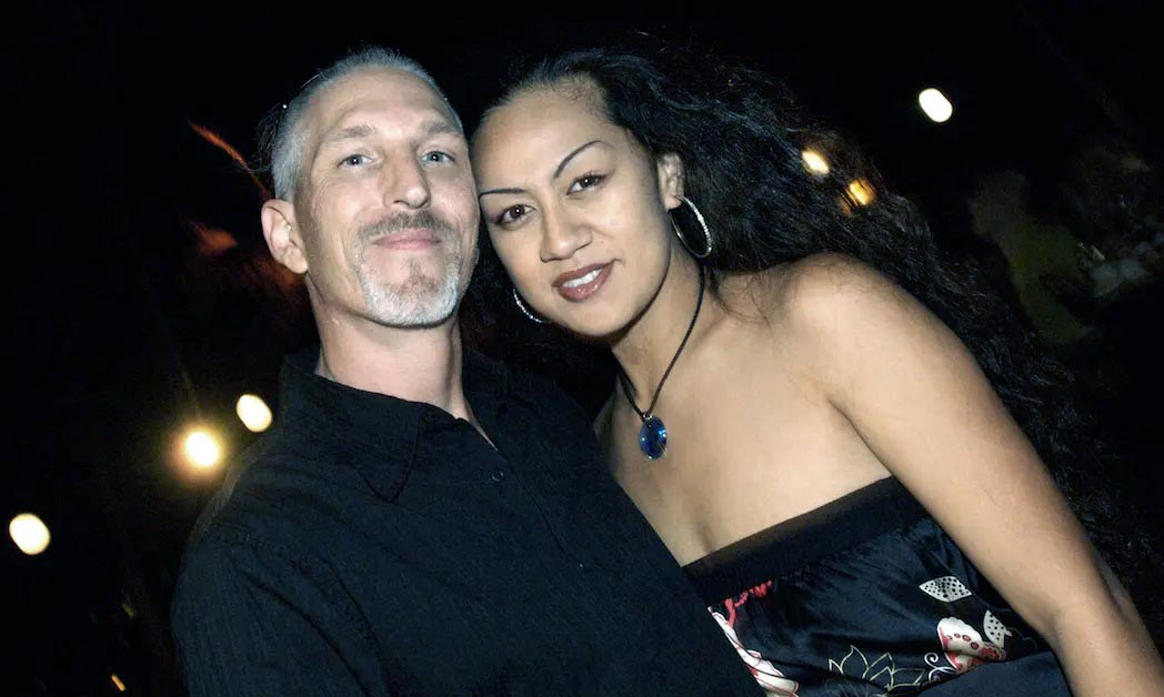 Photo of Tim Chapman with his ex-wife, Davina.