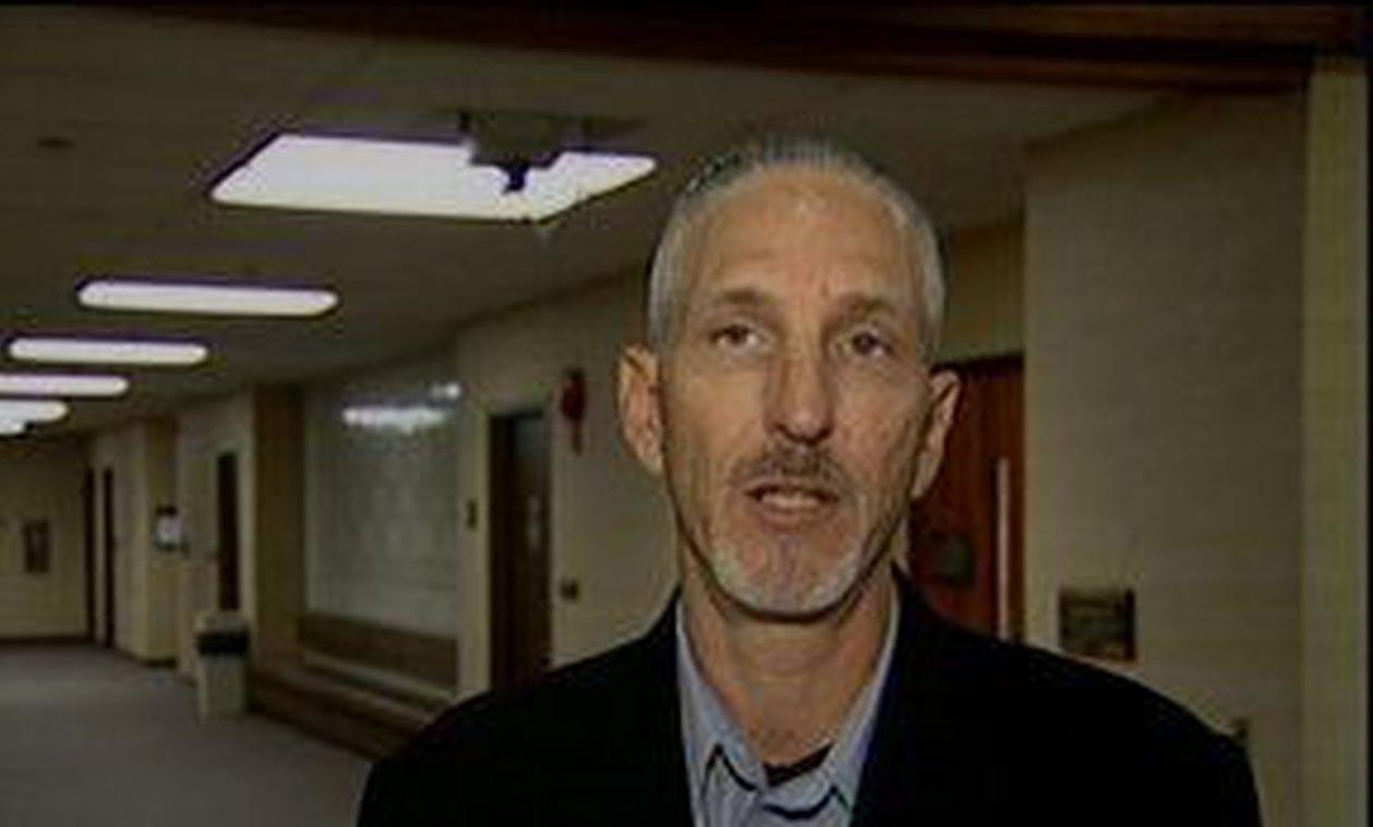 Image of Tim Chapman in TV news