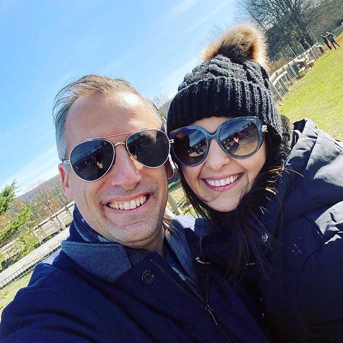 Photo of Joe Gatto and his wife, Bessy Gatto.