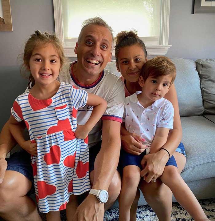 Photo of Joe Gatto's Wife, Bessy Gatto and children.