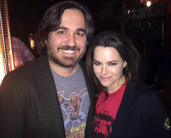 Photo of Brian Guinn and his ex-girlfriend, Emily Amick.