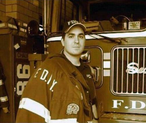 Photo of Photo of Brian Guinn as Firefighter